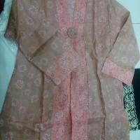 Blus Milly Jumputan,Baju murah, atasan, batik kerja, Baju Modern,etnic