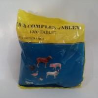 VITAMIN B COMPLEX untuk ternak isi 1000 tablet produksi USFA