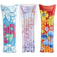 Ban renang matras Balon merk INTEX Motif Bunga bunga Colorfull