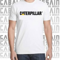 kaos sporty, t-shirt caterpillar, baju keren