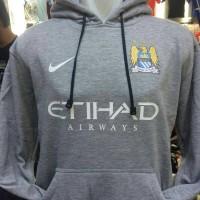 jaket hoodie manchester city