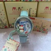 watch MINI miniatur korea blue