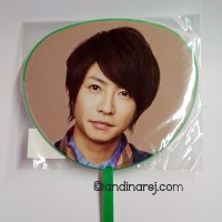 [Goods] Mini Uchiwa - Arashi LOVE Tour (Aiba Masaki)
