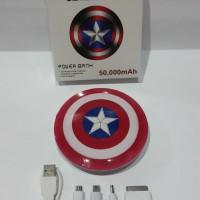 Powerbank Avenger Captain America50000 mAh