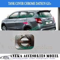 Garnish Tutup Bensin Mobil Datsun Go+ Panca Chrome Sporty