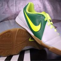 Sepatu Futsal Nike CTR 360 Enganche Anak Putih Hijau(Nike,Anak,Adidas)
