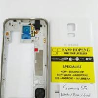 Samsung S5 Chasing / Bazel + Frame + Backdoor / Tutup Belakang