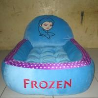 Kasur Bayi Biru Karakter Frozen Motif Polkadot