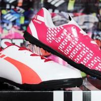 Sepatu Futsal Puma EvoSpeed Putih Pink Sol Hitam (sepatu murah,2016)