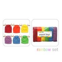 Baby Chaz Popok Tali Bayi Rainbow Isi 6 / Celana Popok Bayi