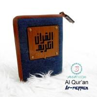 Al Quran Pria Madina AR RAYYAN warna Denim