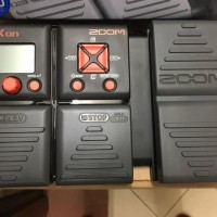 Efek Gitar Bass Zoom B1x On Original Include Adapto