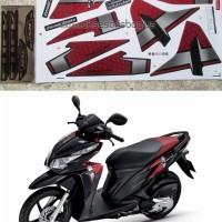 Striping Lis Motor Honda Click 125i ISS Thailand 2014 125 Vario Techno