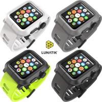 LUNATIK Epik PC Silicone Band for Apple Watch 38mm