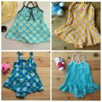 Baju Renang Anak perempuan / baby swimsuits 1-2 tahun