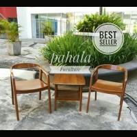 Kursi Teras Jati New Betawi (Kursi Jati, Outdoor, Interior, Furniture)