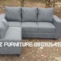 sofa L, sofa bed, sofa modern n minimalis