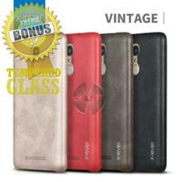 Leather Backcase X-Level Hard Back Case Xiaomi Redmi Note 3 Pro