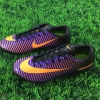 sepatu futsal nike mercurial vapor xi turf ungu hitam grade ori import