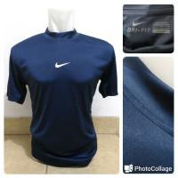 Manset / Baselayer Lengan Pendek Nike Navy