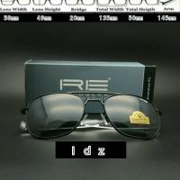 Frame Kacamata Aviator Randolph Engineering Black Good Quality