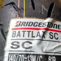Ban Bridgestone Battlax 140/70-13 SC Bias Tubeless Nmax Rear Belakang