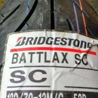 Ban Bridgestone Battlax 120/70-13 SC Bias Tubeless Nmax Depan Front
