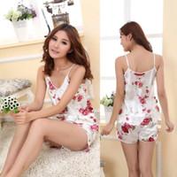 Baju Tidur Satin Piyama Murah Bajutidur Silk Piyama Import Cewek