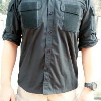 Baju Pdl Komando / Seragam Pdl Velcro / Baju Lapangan /Kemeja Tactical
