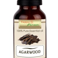 Happy Green Agarwood Essential Oil - Minyak Gaharu Murni