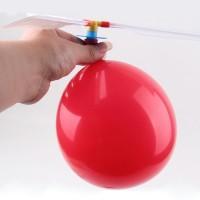 DIY Balloon Helicopter Flying Toy Kids / Mainan Balon Terbang Anak
