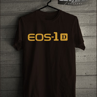 Kaos/T-shirt Photography Canon Eos 1D Logo Murah