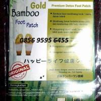 Koyo Kaki Bamboo GOLD Foot Patch Detox Premium EMPUK TIDAK KERAS