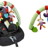 Mainan Stroller/Mainan Bayi/Baby Gym Stroller/Travel Arch