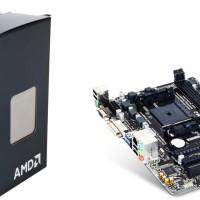 Paket AMD Athlon X4 860K + Gigabyte GA-F2A68HMDS2 Procie + Motherboard