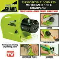 Swifty Sharp /Alat Pengasah Pisau Elektrik Otomatis