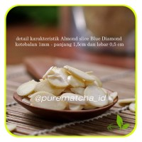 Almond Slice - Kacang Almond - 1KG