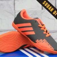 Sepatu Futsal Anak/kids/bola/junior/Adidas Predator LZ Abu Orange Anak