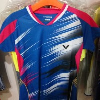 kaos badminton victor import korea untuk ladies/ cewek