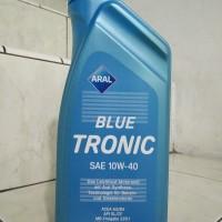 Oli Aral Blue Tronic SAE 10W-40 API SL/CF Synthetic Germany Kemasan 1L