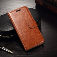 Flip wallet leather Samsung galaxy S6 - Hitam