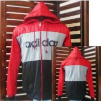 Jaket Parasut Adidas kombinasi / Jumper/ outdoor