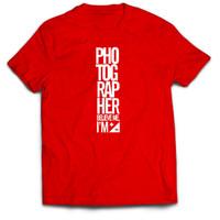 Kaos / T-shirt Photographer