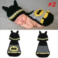 newborn baby photo costume/ kostum bayi /photo booth batman