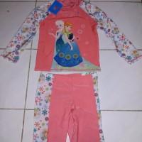 baju renang anak frozen atas bawah SD