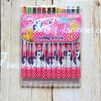 Crayon Putar Little Pony 12 Color