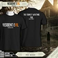 t-shirt Resident evil 7 black color