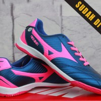 mizuno neo shin navy pink KW Super(sepatu futsal,bola,soccer,gros