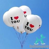 Balon I Love U Latex