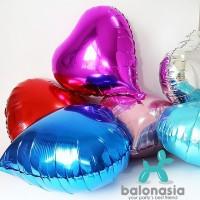 Balon Foil Hati 20cm